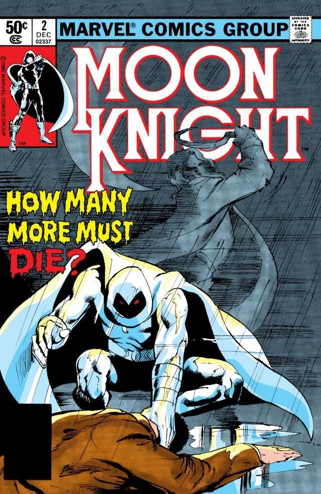 1st series 1980 MOON KNIGHT #4 VERY FINE