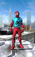 Peter Parker (Ben Reilly) (Earth-TRN469) from Spider-Man Unlimited (video game)