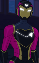 Riri Williams (Earth-TRN684) from Marvel Rising Heart of Iron 001