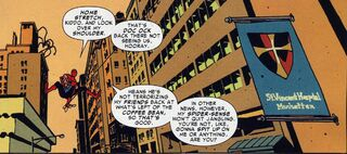 Saint Vincent's Hospital from Amazing Spider-Man Vol 1 643 001