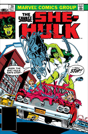 Savage She-Hulk Vol 1 20