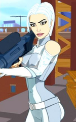 Silver Sablinova (Earth-760207) from Spider-Man The New Animated Series 001