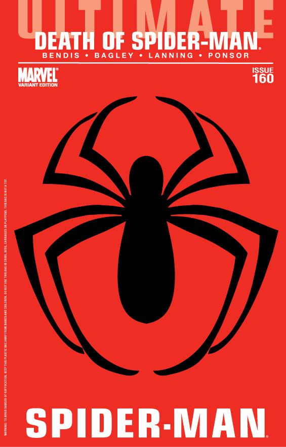 Image Ultimate Spider Man Vol 1 160 Polybag Bagley Variantg