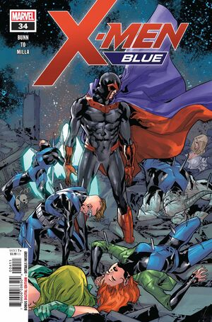 X-Men Blue Vol 1 34