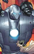 Anthony (Brain tumor) (Earth-1610) and Fourth Nurse (Earth-1610) from Ultimate Comics Ultimates Vol 1 12 0001