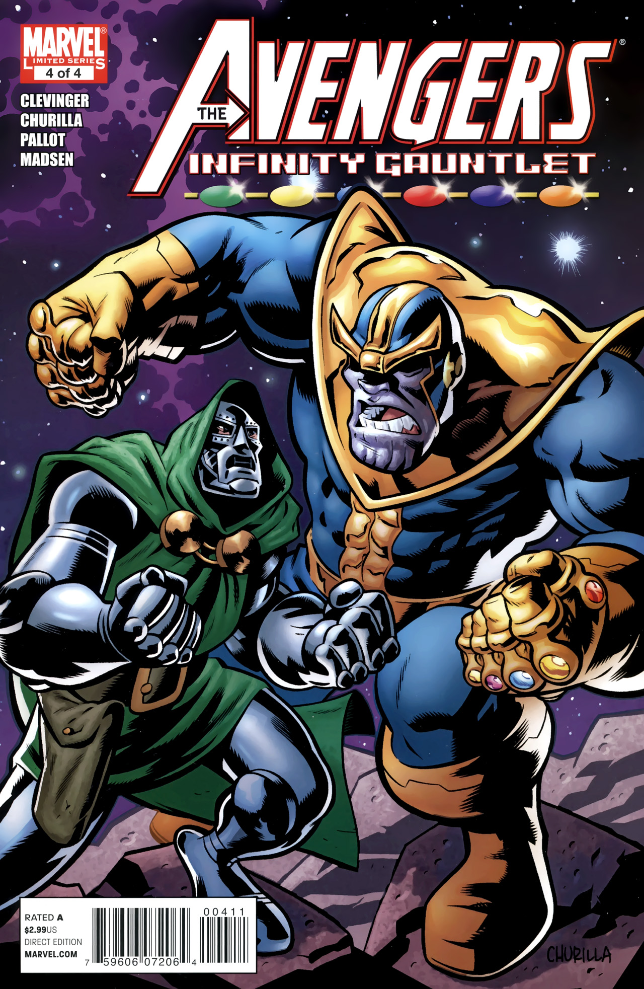 marvel comics infinity gauntlet