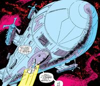 Big Casino (Spaceship) from Avengers Annual Vol 1 14 001