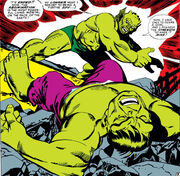 Bruce Banner (Earth-616) and Emil Blonsky (Earth-616) from Tales to Astonish Vol 1 90 0001