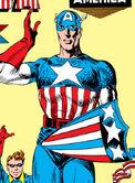 Captain America's Shield from Captain America Comics Vol 1 1 0001