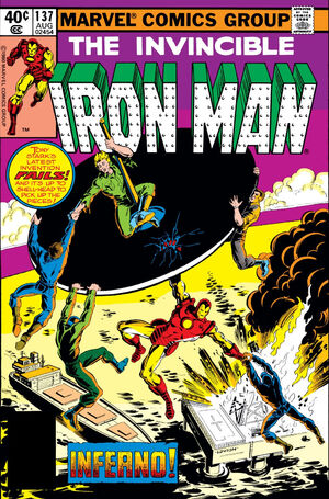 Iron Man Vol 1 137