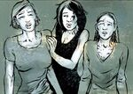 Lana, Katalina and Maja (Earth-200111) from Punisher Vol 7 27 001