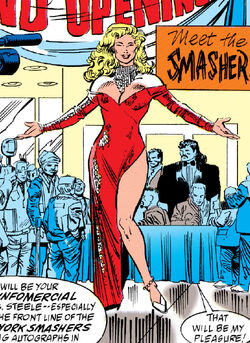 Marcy Masterson (Earth-616) from Thunderstrike Vol 1 1 001