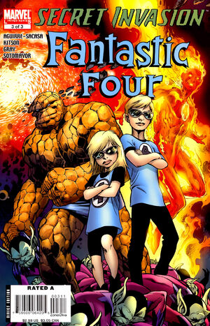 Secret Invasion Fantastic Four Vol 1 3