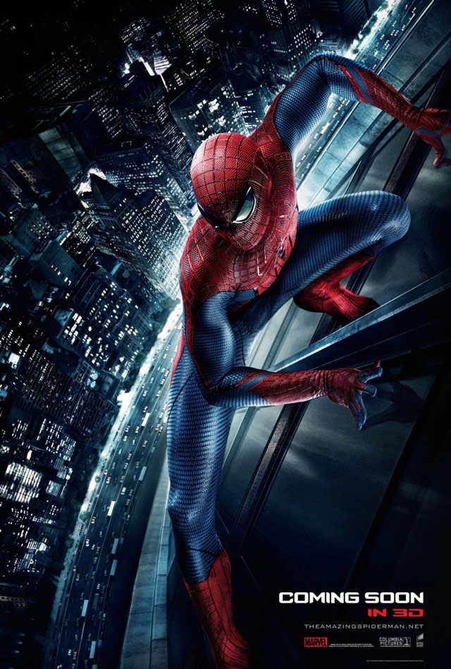 The Amazing Spider Man 2012 Film Poster 0003