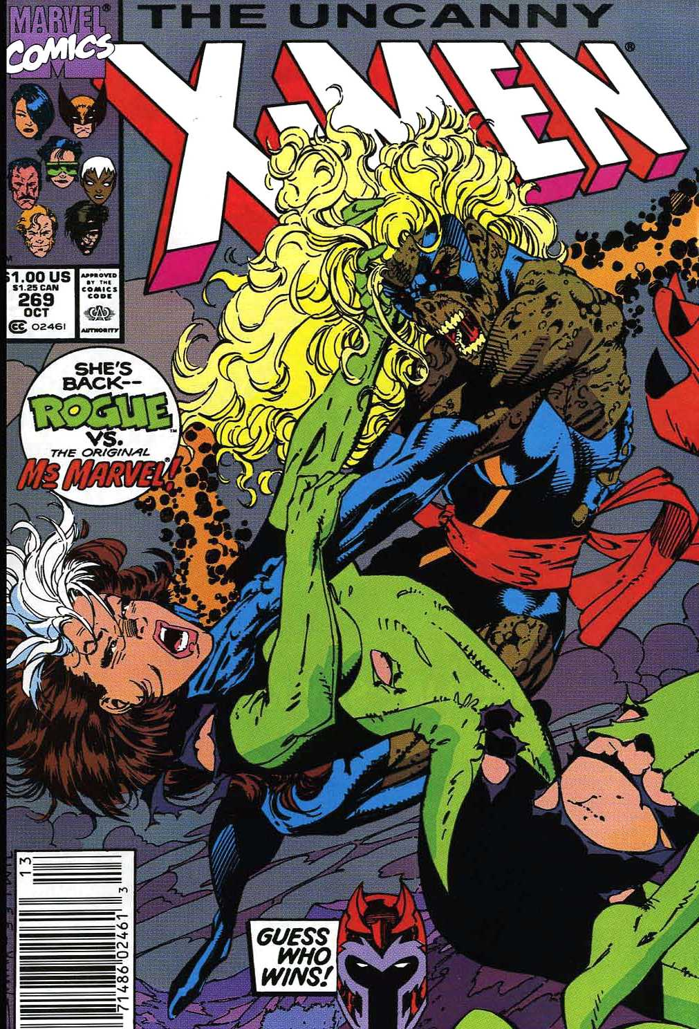 Uncanny X-Men Vol 1 269