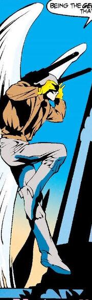 Warren Worthington III (Earth-616) Avenging Angel of World War II from Excalibur XX Crossing Vol 1 1