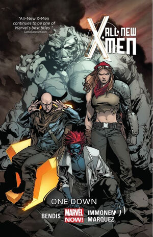 All-New X-Men TPB Vol 1 5 One Down