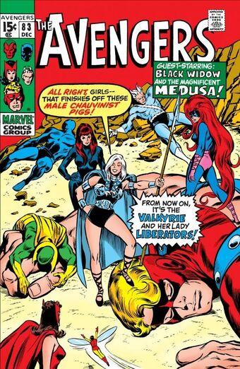 Image result for avengers 83 tom fagen