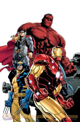 File:Avengers Vol 4 17 Marvel Architects Variant Textless.jpg