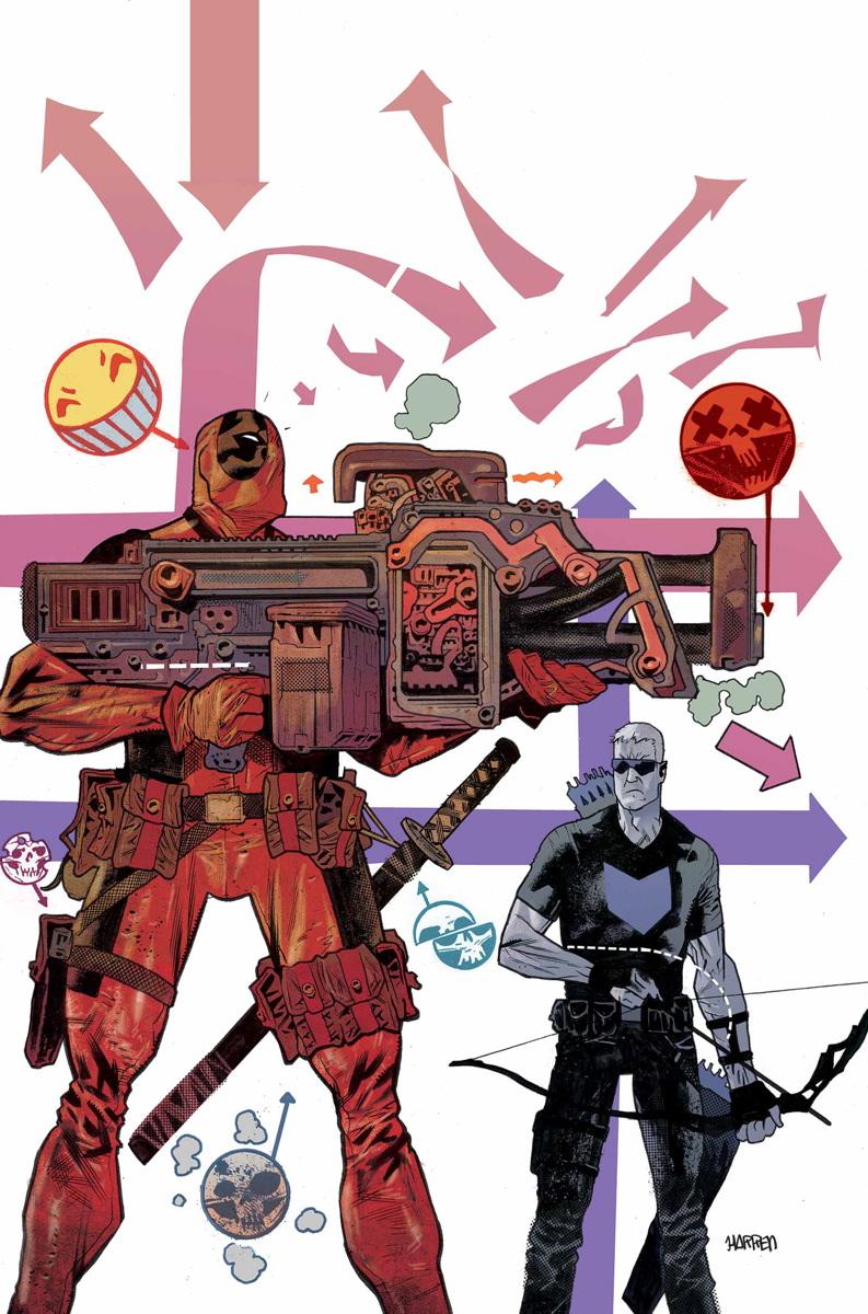 Hawkeye vs. Deadpool Vol 1 1 Textless
