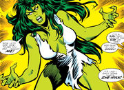Jennifer Walters (Earth-616) from Savage She-Hulk Vol 1 1 0001