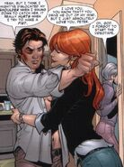 Peter Parker (Earth-616) and Mary Jane Watson (Earth-616) from Marvel Knights Spider-Man Vol 1 1 001