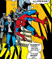 Peter Parker (Earth-616) in jail from Amazing Spider-Man Vol 1 65
