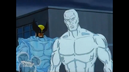 Robert Drake (Earth-92131) and Wolverine (Logan) (Earth-92131) from X-Men The Animated Series Season 3 15 002