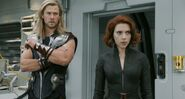Thor Odinson (Earth-199999) and Natalia Romanoff (Earth-199999) from Marvel's The Avengers 0001