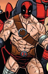 Wade Wilson (Earth-Unknown) from Deadpool Kills Deadpool Vol 1 4 0016