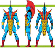Yondu Udonta (Earth-691) from Official Handbook of the Marvel Universe Master Edition Vol 1 22 0001