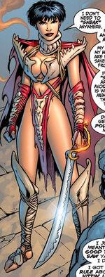 Yvette Diamonde (Earth-616) from Fantastic Four Vol 3 1 0001