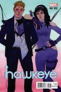 All-New Hawkeye Vol 1 2 Wada Variant