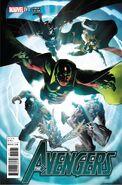 Avengers Vol 7 1 Kubert Variant