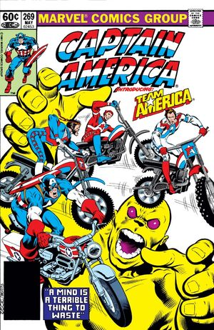 Captain America Vol 1 269