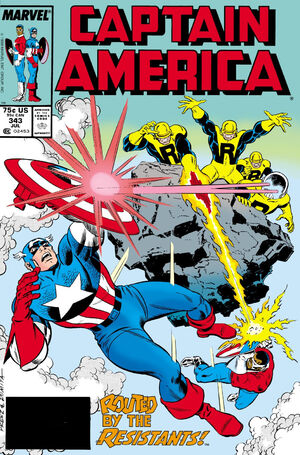 Captain America Vol 1 343