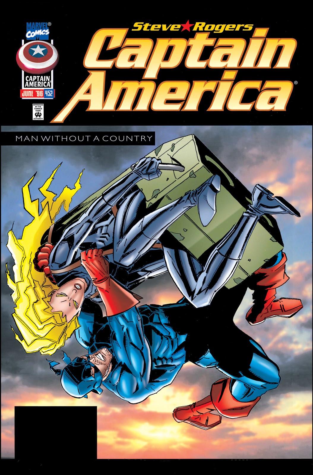 Captain America Vol 1 452