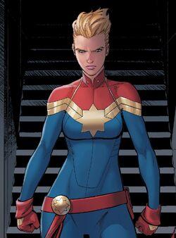Carol Danvers (Earth-616) from Civil War II Vol 1 2 001