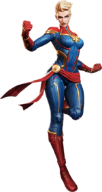 Carol Danvers (Earth-TRN789) from Marvel Super War