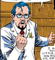 Henry Jessup (Earth-616) as a younger man from Fantastic Four Vol 1 294