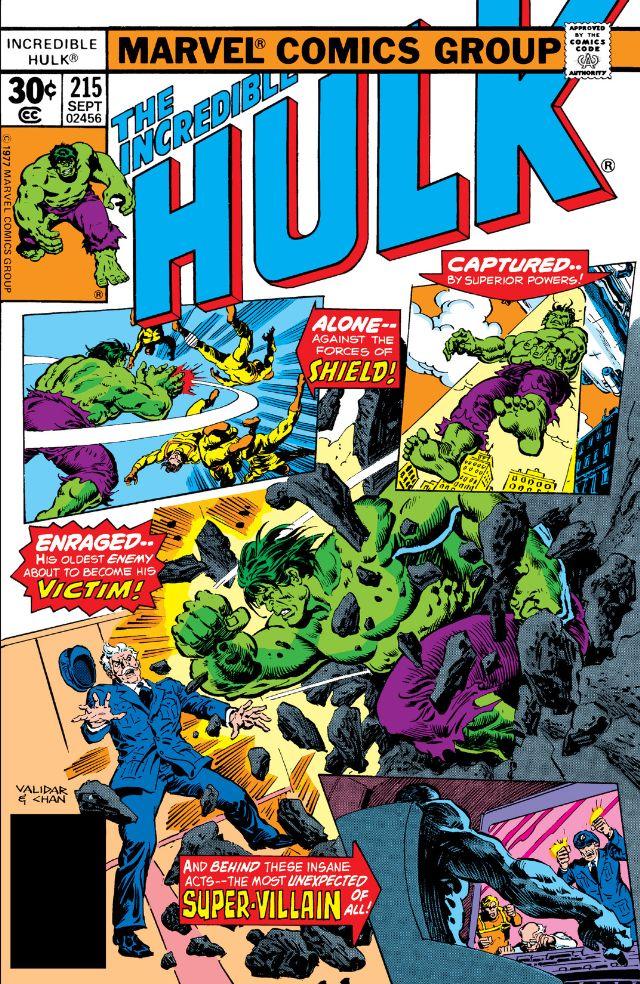 Incredible Hulk Vol 1 215
