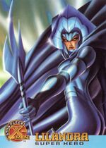 Lilandra Neramani (Earth-616) from 1996 Fleer X-Men (Trading Cards) 0001