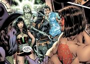 Mister Mocteuma (Earth-616) and The Salamander (Earth-616) and others in Scarlet Spider Vol 2 15