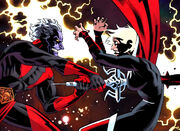 Phyla-Vell (Earth-616) and Magus (Earth-7528) from Guardians of the Galaxy Vol 2 19 001