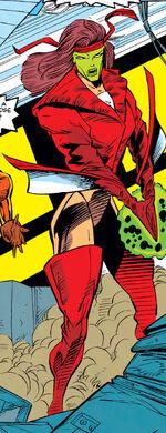 Plague (Earth-TRN566) from X-Men Adventure Vol 1 12 0001