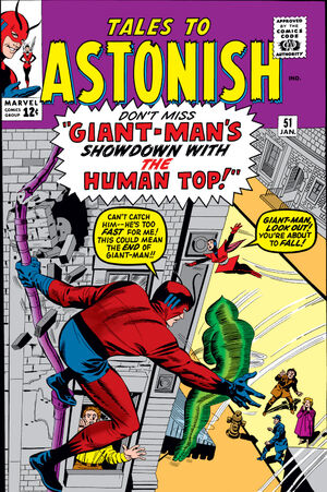 Tales to Astonish Vol 1 51