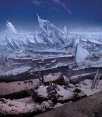 Titan (Moon of Saturn) from Thanos Rising Vol 1 5 002