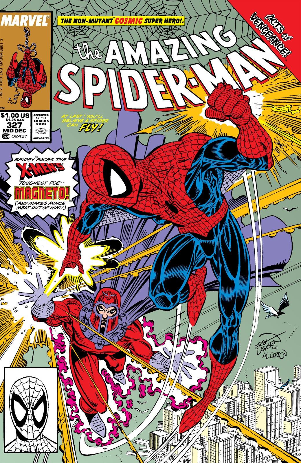 Amazing Spider-Man Vol 1 327   Marvel Database   FANDOM ... Peter Max 60s