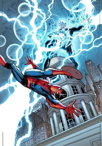 File:Amazing Spider-Man Vol 3 1 Strange Adventures Comix & Curiosities Exclusive Variant Textless.jpg