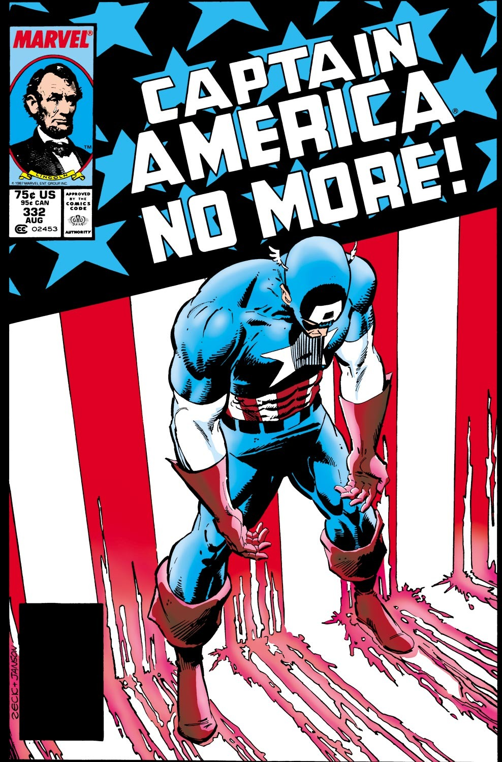 Image result for Captain America Vol. 1 #332